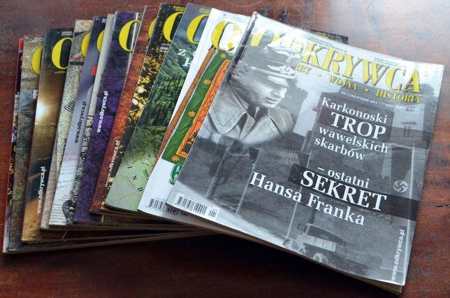 Magazyn ODKRYWCA - rocznik 2011 - kompletny