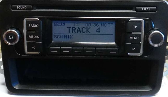 Radio VW Golf 5 MP3 RCD210 Polo Touran Golf Passat