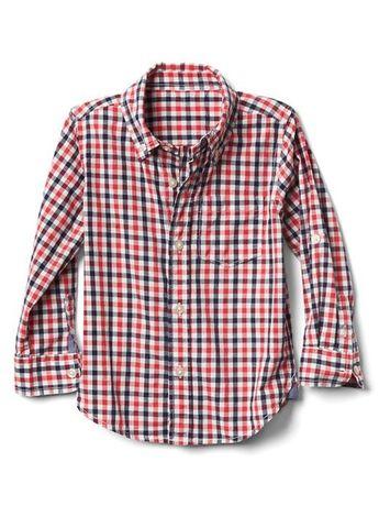 Koszula kratka GAP baby stan idealny j NOWA 5 lat 110