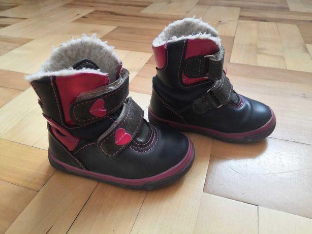 Buty kozaki dla dziewczynki rozmiar 21