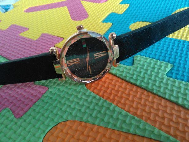 Жіночий годинник Starry Sky екозамша часы женские
