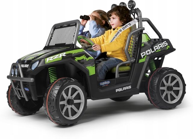 POLARIS GREEN SHADOW 24V auto JEEP na akumulator Peg Perego NOWY!