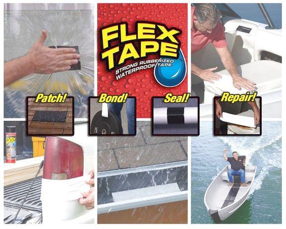 Flex Tape клейкая лента 10см, 20см, 30см синтетический каучук