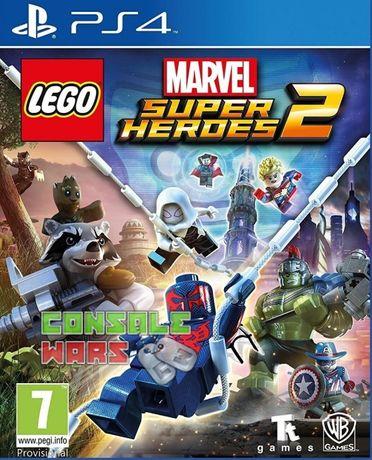 PS4 игра MARVEL super heroes 2