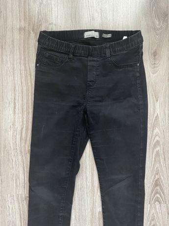 HOUSE spodnie jeansy denim leggins 36/S