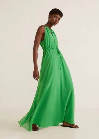 Платье в пол от Mango