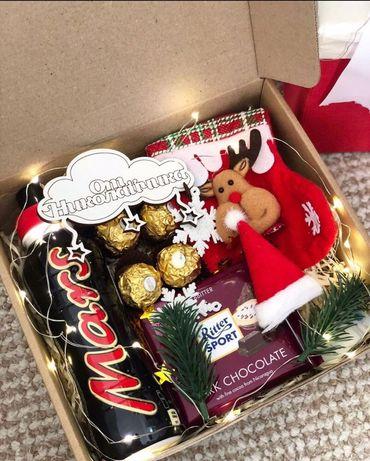 Подарочный набор с конфетками