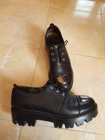 Туфли ботинки натуральная кожа