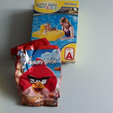 Bestway pływak dziecięcy step A + pufki NOWE !!!
