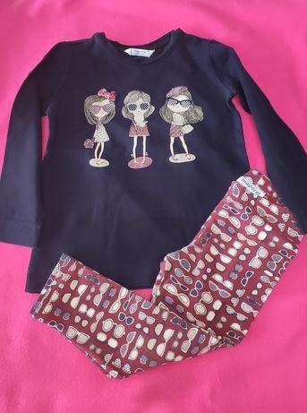 Conjunto leggings e blusa 2-3 anos