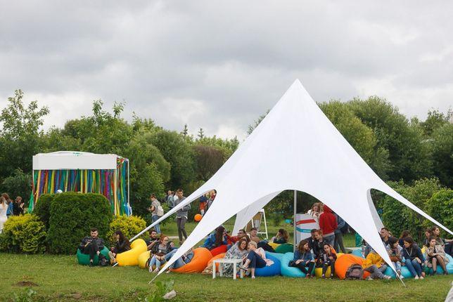Палатка Звезда, тент на 20 человек купить Украина