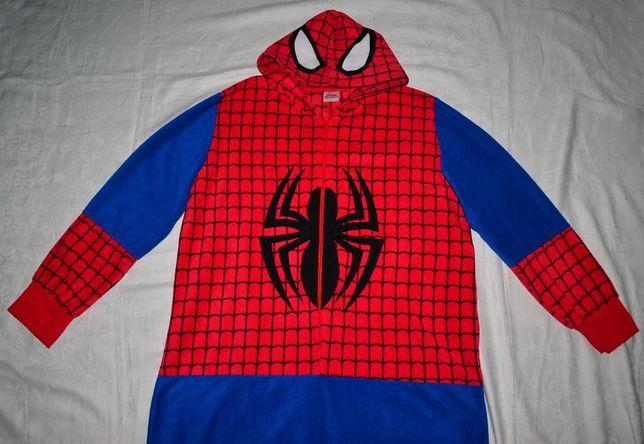 Кигуруми спайдермен Marvel SpiderMan Человек Паук костюм пижама слип