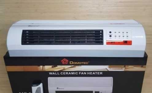 Тепловентилятор настенный обогрев, охлаждение. Domotec