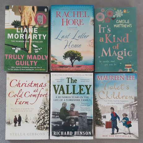 Moriarty, Hore, Matthews książki PO ANGIELSKU angielski books english