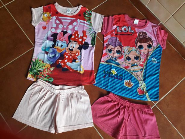 Pijamas de menina da LOL