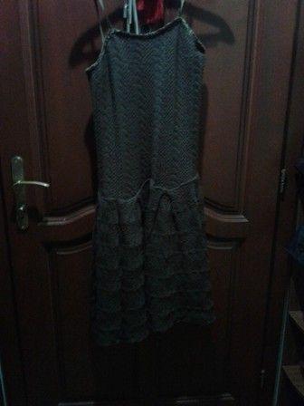 платье вязанное летнее Хуст - изображение 1