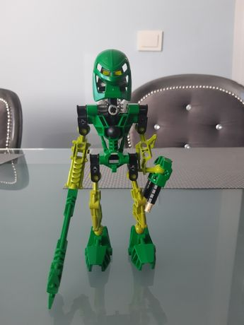 Lego bionicle 8535 Toa Lewa + Zielona kanohi kaukau