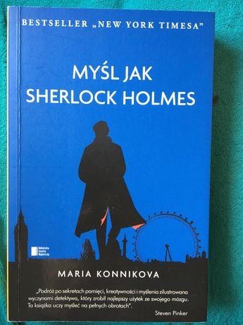Ksiazka Myslec jak Sherlock Holmes Maria Konnikova