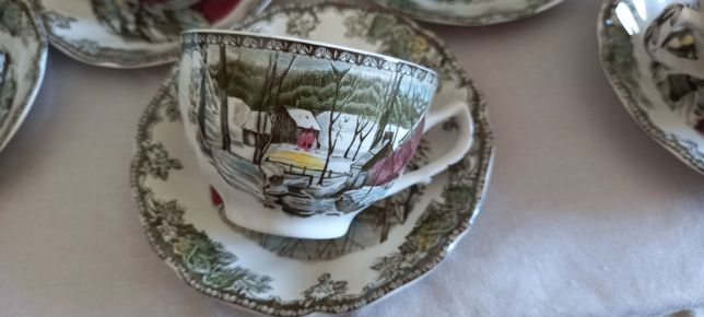 Serviço de chá em porcelana Inglesa