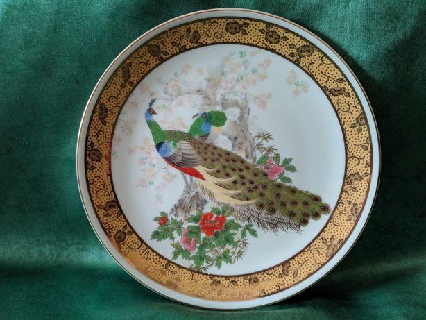 Японская тарелочка, фарфор, винтаж