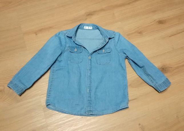 Koszula z miękkiego dżinsu
