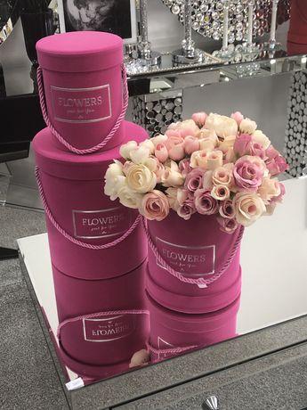flower boxy zestawy kolory wzory