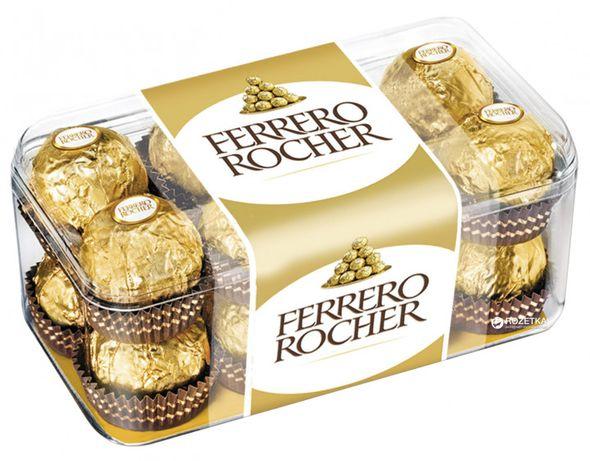 Конфеты Фереро, Ferrero Rocher (*16шт) 200 г