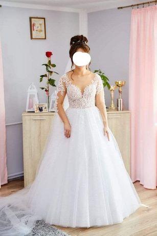 Sprzedam suknie ślubną w stanie idealnym
