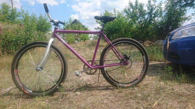 Городской спортивный велосипед