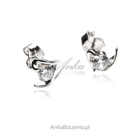ankabizuteria.pl wyszukane wisiory Kolczyki srebrne z markazytami - Dy