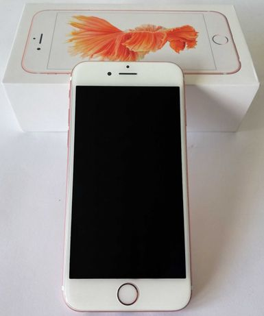 smartfon IPHONE 6S 128GB Apple Rose Gold + 6 etui case