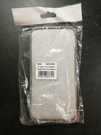 Szkło hartowane oraz case do LG Q7
