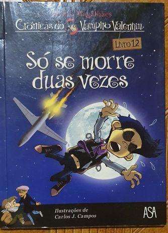 "Livro 12 - ""Só se morre duas vezes"" Álvaro Magalhães"