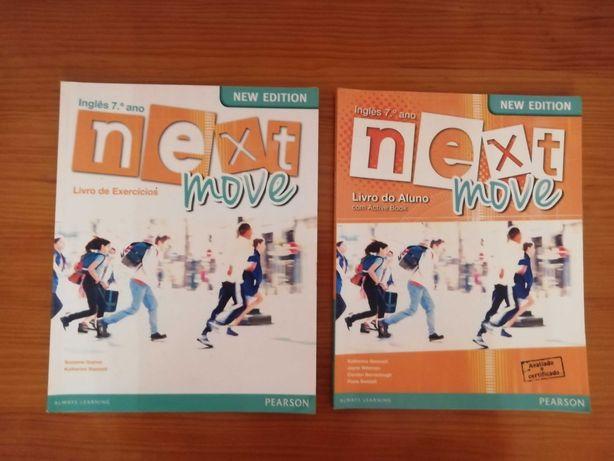 Next move 7ºano - Manual e Caderno de atividades