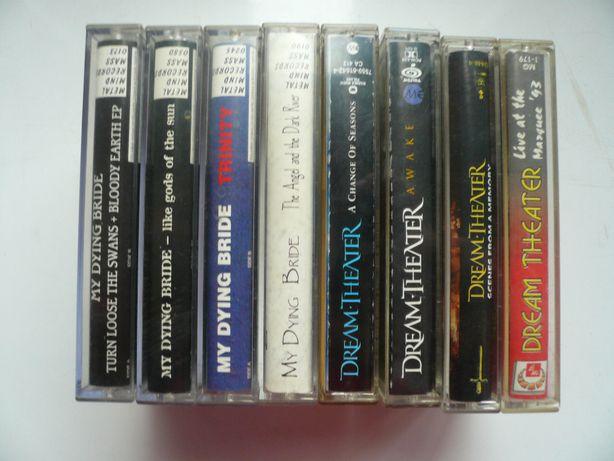 wyprzedaż kolekcji kaset magneto. audio My Dying Bride i Dream Theater
