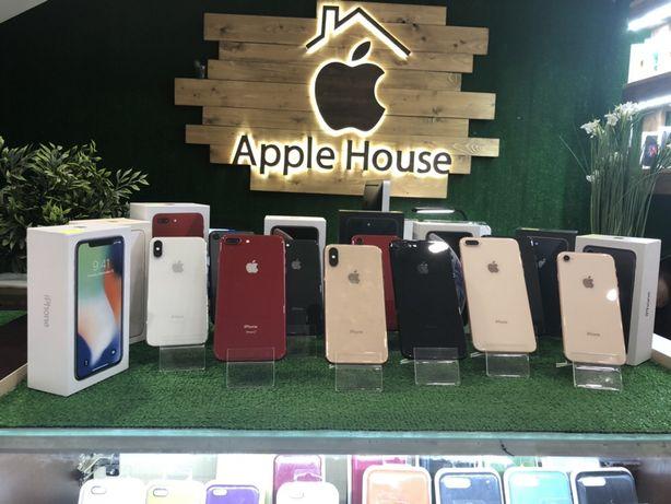 Магазин iphone 7, 8, 7+, 8+, X, Xs, xs Max 32, 64, 128 neverlock Orig
