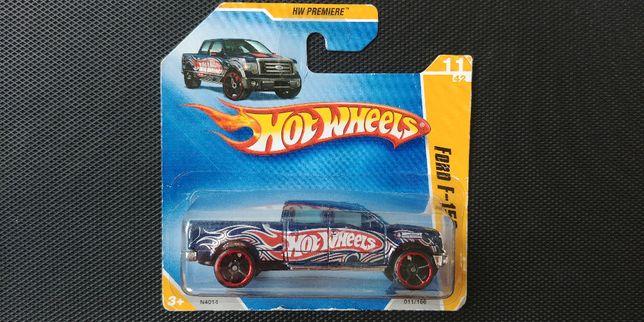 Autko, Ford F-150 marki Hot Wheels z 2009 roku. Tania wysyłka od 8zł.