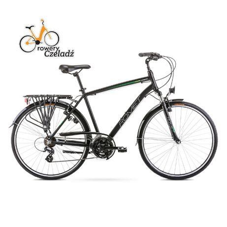 """ROMET Wagant Czarno rower trekkingowy 28""""Zielony R19"""""""