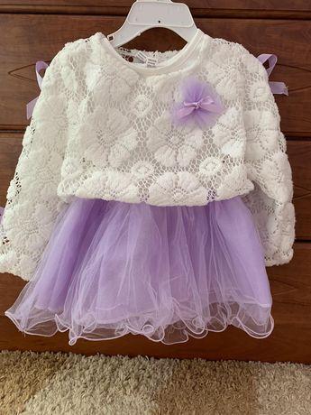 Сукня для дівчинки 12-24м