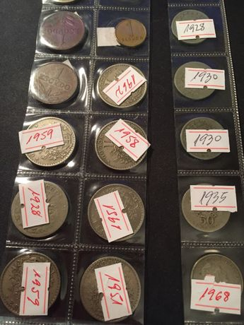 moeda 50 centavos 1916