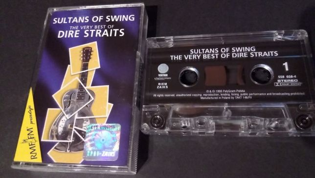 Dire Straits – Sultans Of Swing,1998, KASETA MAGNETOFONOWA