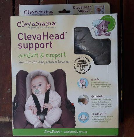 Suporte de cabeça e costas de bebé para cadeirinha automóvel