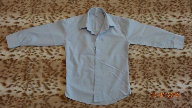 Рубашка школьная для мальчика 7-8 лет