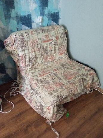 Крісло-ліжко (залізний каркас +ламелі)