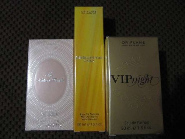 Oriflame perfum VIP Night, Midsummer, My Naked Fruth