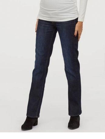 Spodnie jeansy ciążowe H&M r.46 na 175cm