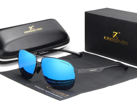 Okulary Przeciwsłoneczne Aviator Polaryzacyjne Męskie z Etui Modele