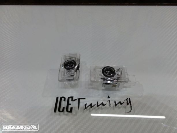 Luz de cortesia para portas com Projector em Led com logo Volvo V40, V60, S60, XC60, XC90