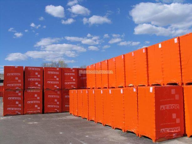 Продаж газобетона (газоблока) з доставкою.