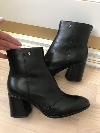 Осенние ботинки Armani оригинал, натуральная кожа!